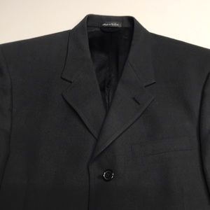 KENNETH COLE Men's Large Black Sport Coat Blazer